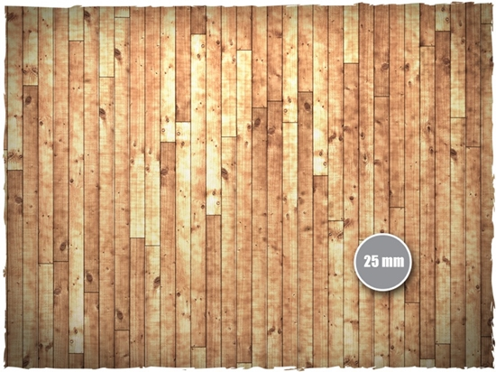 Deep Cut Studio Deep Cut Studio Mat Wooden Floor 4x4