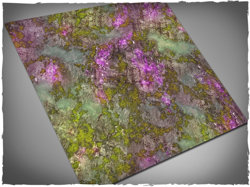 Deep Cut Studio Mat: Xenos Jungle: 3x3 (Mousepad)