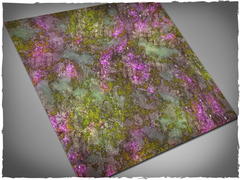 Deep Cut Studio Mat: Xenos Jungle: 4x4 (Mousepad)