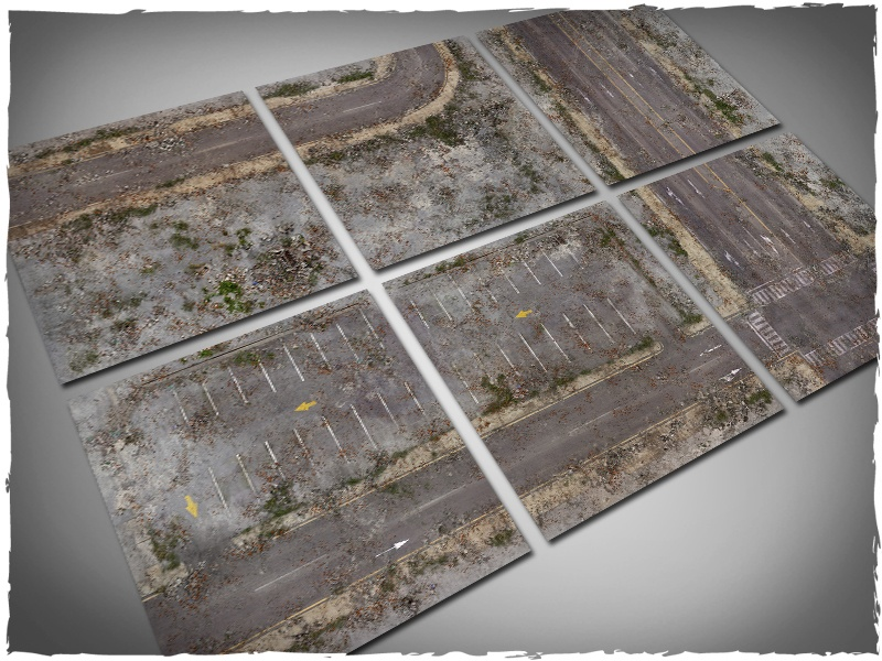 Deep Cut Studio Terrain Tile: Walking Dead City