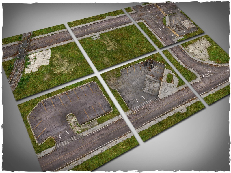 Deep Cut Studio Terrain Tile: Walking Dead Town