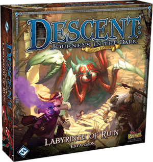 Descent: Labyrinth of Ruin [Damaged]