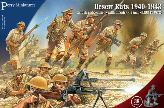 Perry: 28mm Historical: Desert Rats 1940-1943