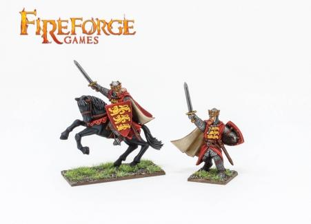 Fireforge Games Deus Vult Richard The Lionheart Mounted And On Foot Frg103 2626680001038