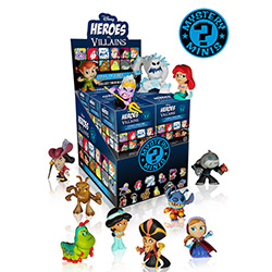 Mystery Minis: Disney Heroes and Villains