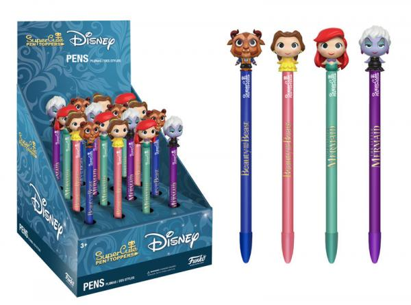 Disney SuperCute Pen Topper- Belle