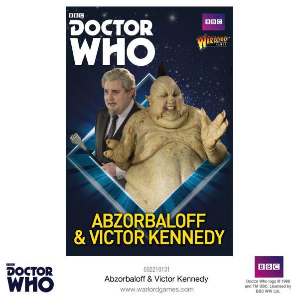 Doctor Who Miniatures: Abzorbaloff & Victor Kennedy