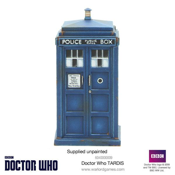 Doctor Who Miniatures: Doctor Who TARDIS