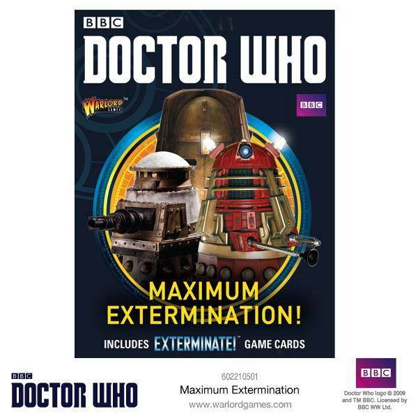Doctor Who Miniatures: Maximum Extermination!