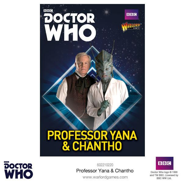 Doctor Who Miniatures: Professor Yana and Chantho