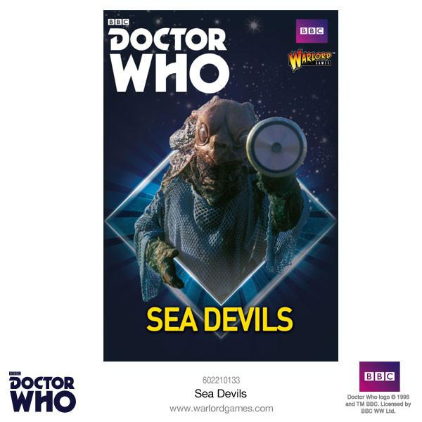 Doctor Who Miniatures: Sea Devils