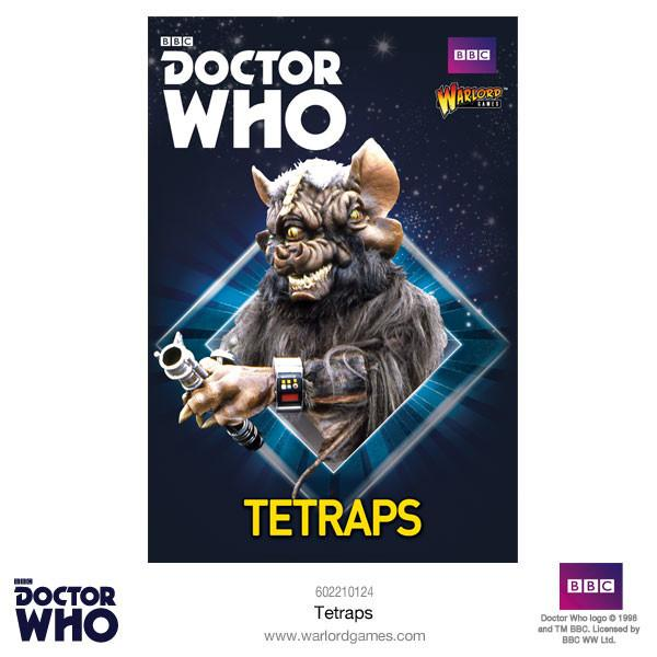 Doctor Who Miniatures: Tetraps