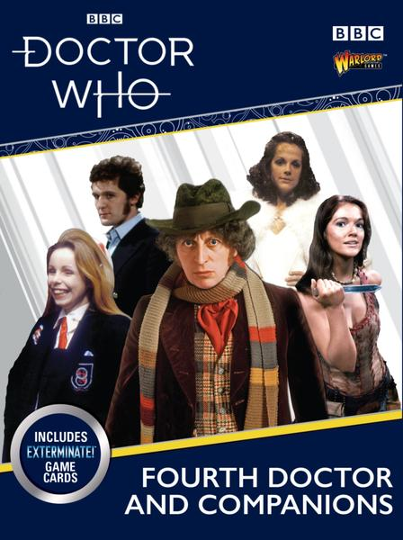 Doctor Who Miniatures: The Fourth Doctor & Companions
