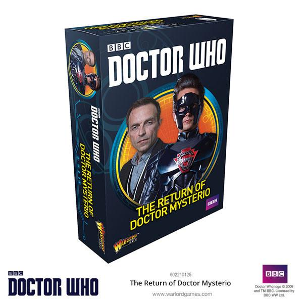 Doctor Who Miniatures: The Return of Doctor Mysterio