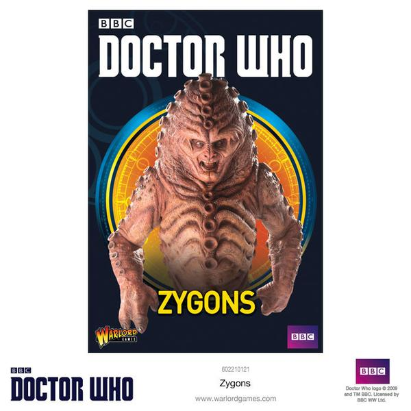 Doctor Who Miniatures: Zygons