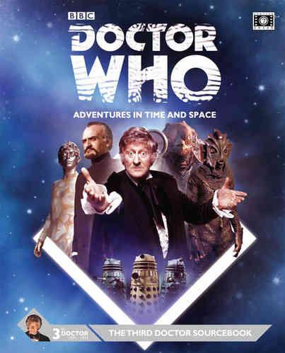 Doctor Who RPG: The Third Doctor Sourcebook
