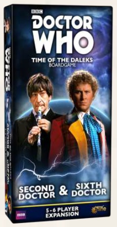 Doctor Who Time of the Daleks: Second & Sixth Doctor