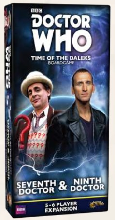 Doctor Who Time of the Daleks: Seventh & Ninth Doctor