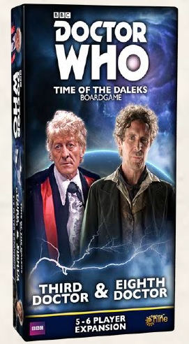 Doctor Who Time of the Daleks: Third & Eighth Doctor