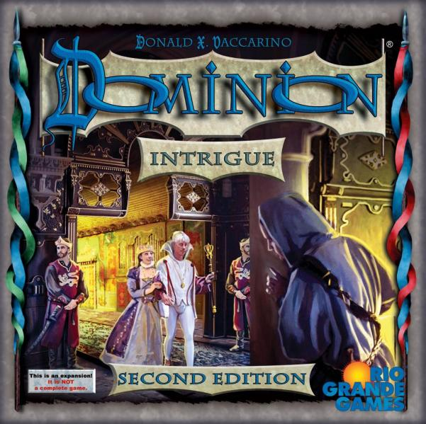 Dominion (2nd Edition): Intrigue [Damaged]