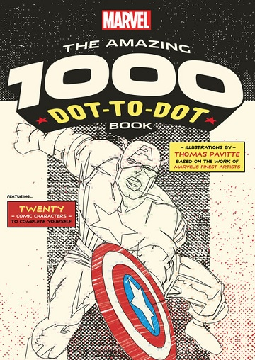 Dot-To-Dot Book: Marvel- THE AMAZING 1000 DOT-TO-DOT BOOK (SALE)