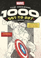 Dot-To-Dot Book: Marvel- THE AMAZING 1000 DOT-TO-DOT BOOK