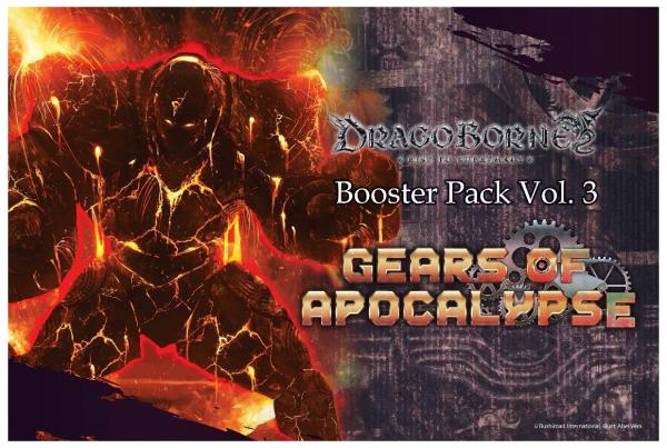 Dragoborne: Gears of Apocalypse- Booster Pack