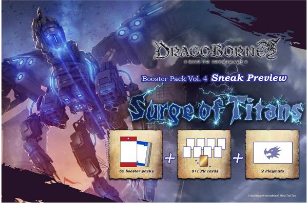Dragoborne: Surge Of Titans- Booster Pack