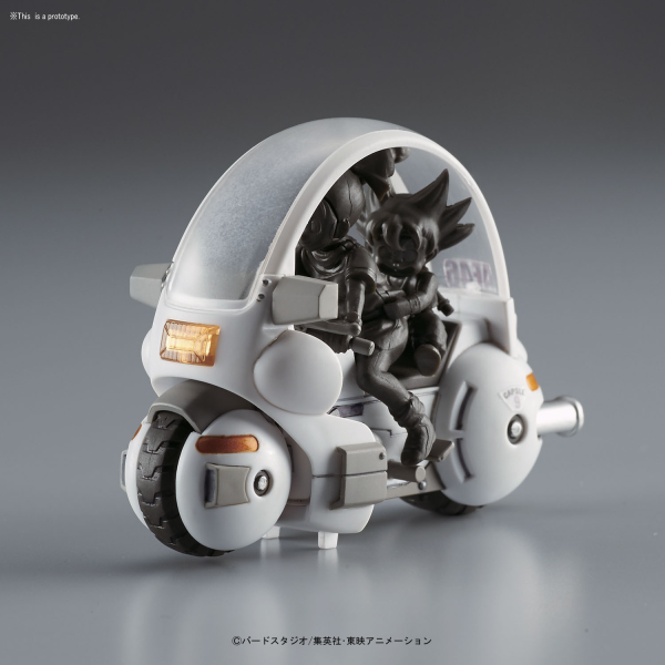Dragon Ball: Mecha Collection - Vol.1 Bulmas Capsule No.9 Motorcycle