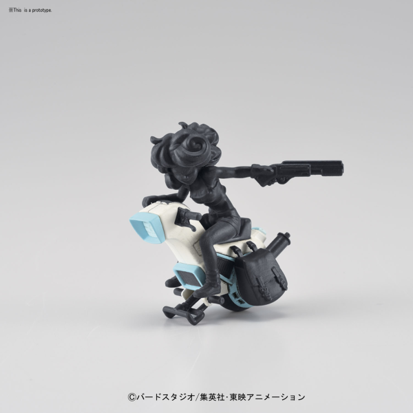 Dragon Ball: Mecha Collection - Vol.3 Lunchs One-wheel Motorcycle