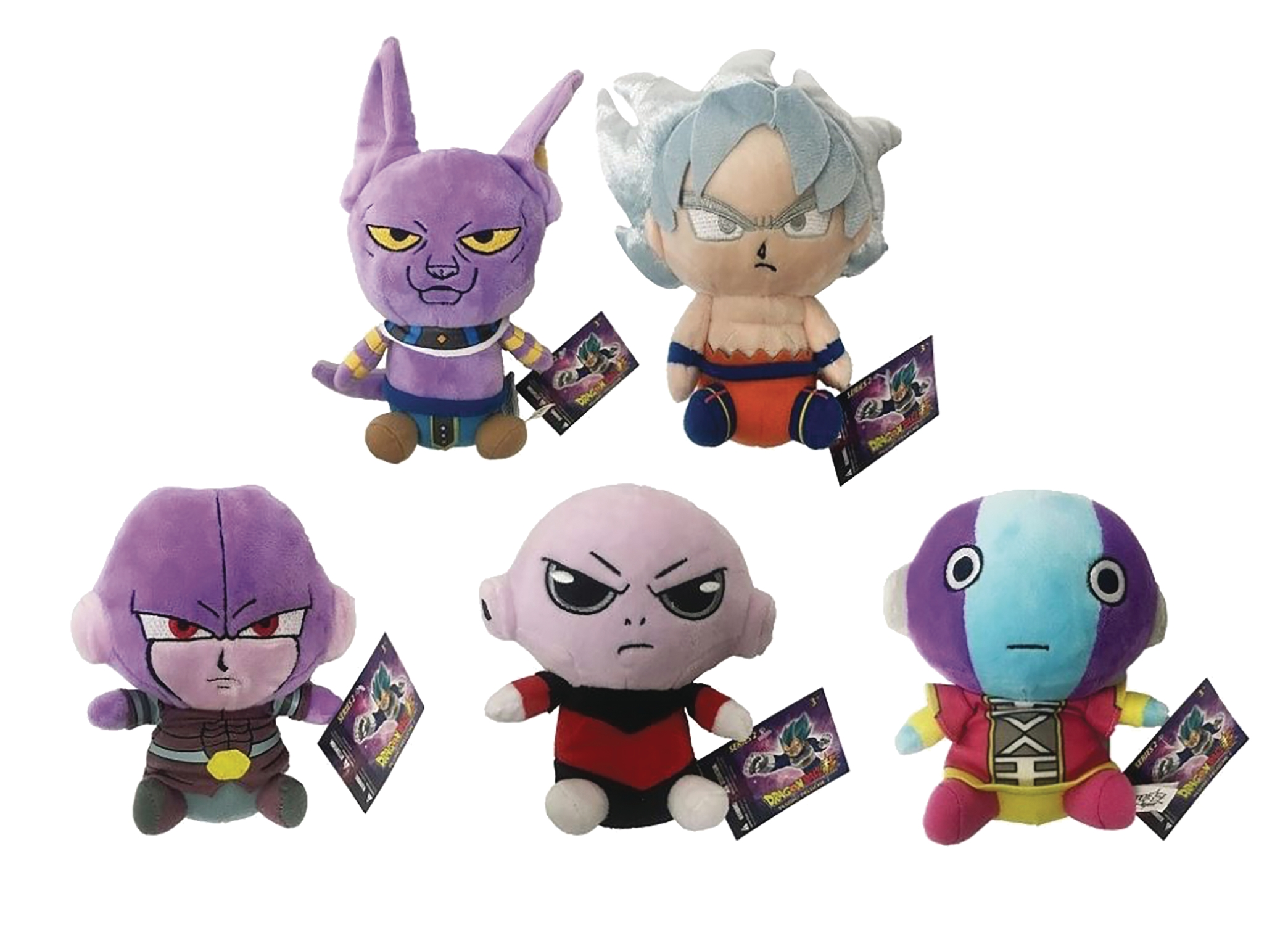 "Dragon Ball Super: 6"" Plush Series 2: Jiren"