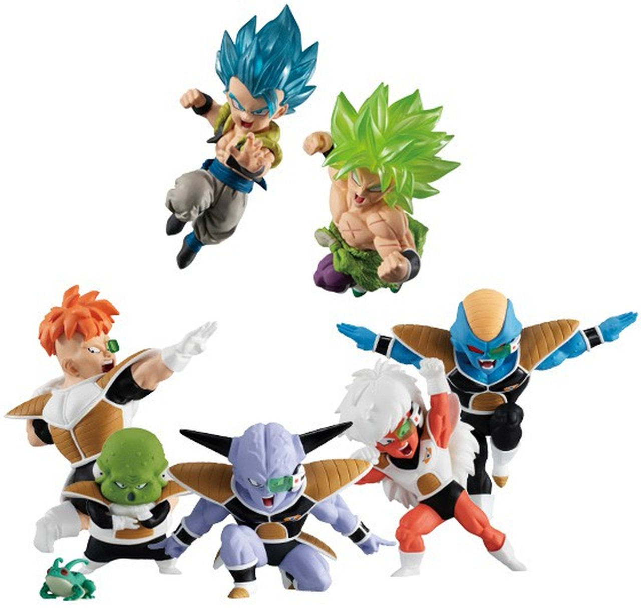 Dragon Ball Super Adverge Motion Figures: Vol. 2: Super Saiyan Blue Gogeta