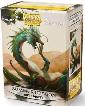 Dragon Shield Card Sleeves: Limited Edition- Summer Dragon (Matte 100ct)