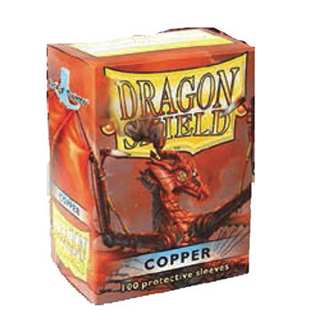 Dragon Shields - Card Sleeves (100) Copper