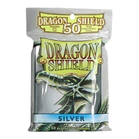 Dragon Shields - Card Sleeves (50): Silver