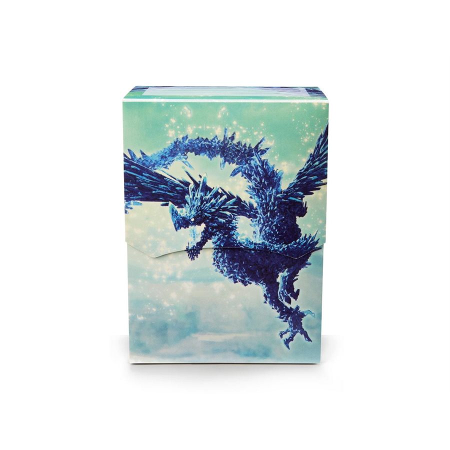 Dragon Shields: Deck Shell Limited Edition: Celeste Clear Blue [Damaged]