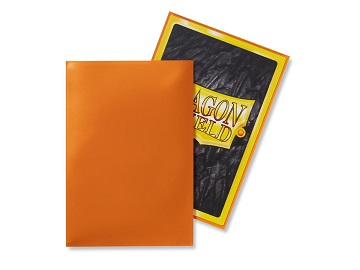 Dragon Shields: Japanese Size Classic Sleeves (50ct) - Orange