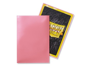 Dragon Shields: Japanese Size Classic Sleeves (50ct) - Pink