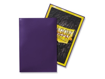 Dragon Shields: Japanese Size Classic Sleeves (50ct) - Purple