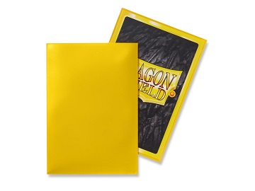 Dragon Shields: Japanese Size Classic Sleeves (50ct) - Yellow