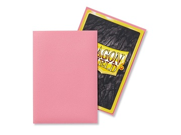 Dragon Shields: Japanese Size Matte Sleeves (60ct) - Pink