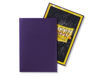 Dragon Shields: Japanese Size Matte Sleeves (60ct) - Purple