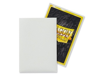 Dragon Shields: Japanese Size Matte Sleeves (60ct) - White