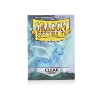 Dragon Shields: Matte Card Sleeves (100): Clear