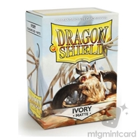 Dragon Shields: Matte Card Sleeves (100): Ivory