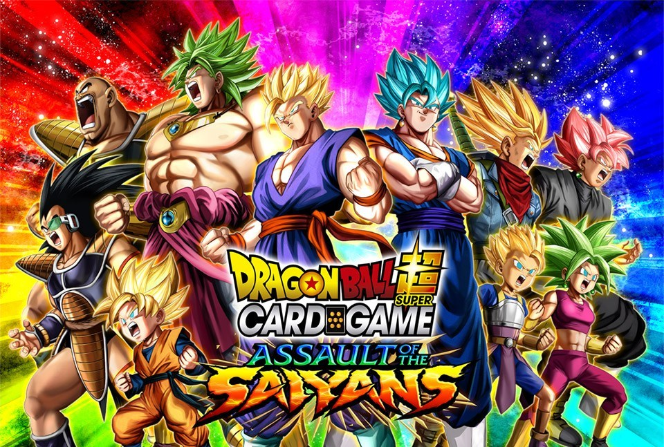 DragonBall Super: 07 Assault of the Saiyans- Booster Box