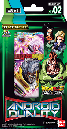DragonBall Super: Series 8 - Expert Deck 02 - Android Duality