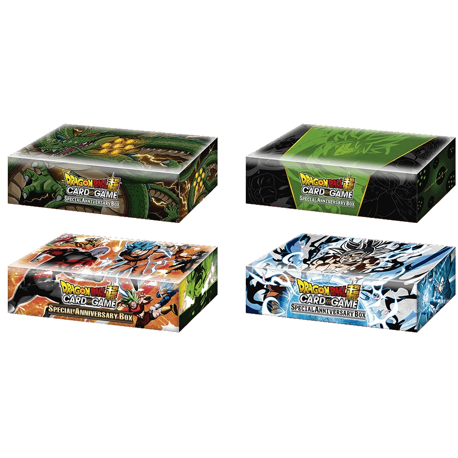 DragonBall Super: Special Anniversary Box (Fight Box Supreme Design)