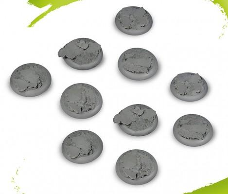 Drakerys Miniature Boardgame: 30mm Scenic Bases Accessory Set (10)