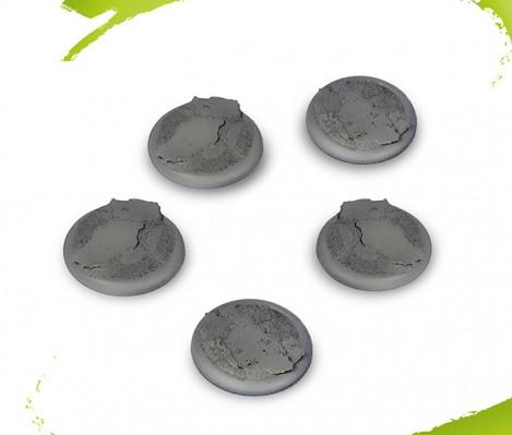 Drakerys Miniature Boardgame: 40mm Scenic Bases Accessory Set (5)